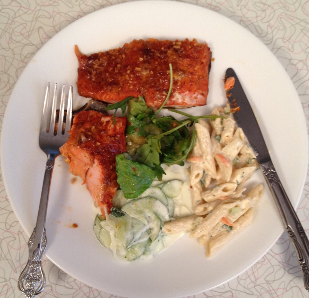 how to cook a side of salmon on the bbq